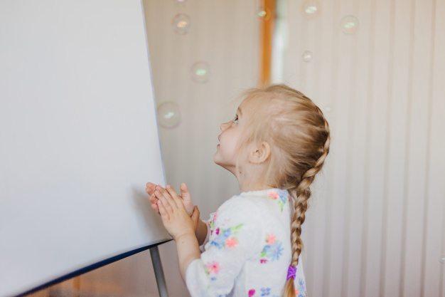 SMART Interactive Whiteboard at Happy Kids