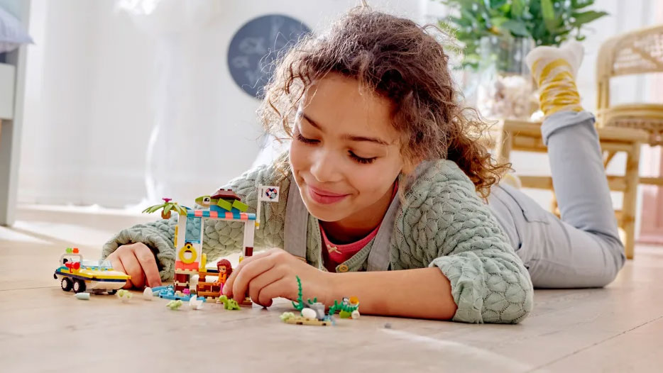 Lego's message to parents: Playtime benefits you as much as your kids