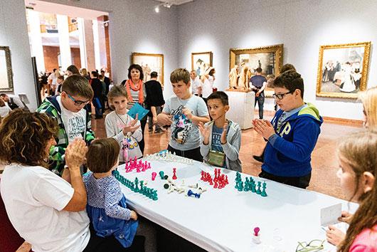 chess festival for children in Budapest